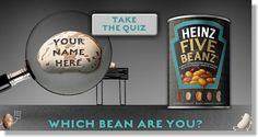 An advert designed to encourage consumers to engage in an activity, the question almost asks the person to consider their personal opinion and participating to prove their answer.