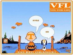 Charlie Brown and Snoopy are Vols fans  :-)
