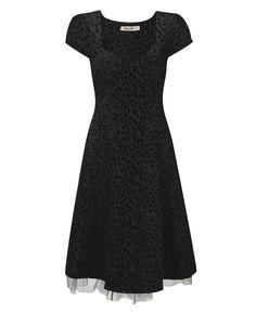 """""""Joe Browns"""" Joe Browns Fabulous Flocked Dress at Simply Be"""