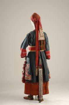 Η φορεσιά της Μπάλτζας και του Δρυμού συναντάται στη βόρεια περιοχή της Θεσσαλονίκης, στα δύο ομώνυμα χωριά. Σήμερα η Μπάλτζα ονομάζεται Μελισσοχώρι. Η μαρτυρία της Αγγελικής Χατζημιχάλη μέσα από τα γραπτά της δείχνει ότι, προς μεγάλη της έκπληξη, η φορεσιά ήταν ζωντανή μέχρι και τα τέλη της δεκαετίας του '60, παρόλο που η Θεσσαλονίκη και οι επιρροές της βρίσκονταν τόσο κοντά στα χωριά.