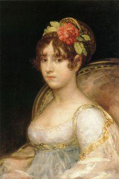 Francisco de Goya - La condesa de Haro