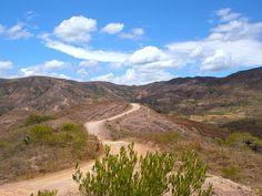 Cold desert climate near Villa de Leyva