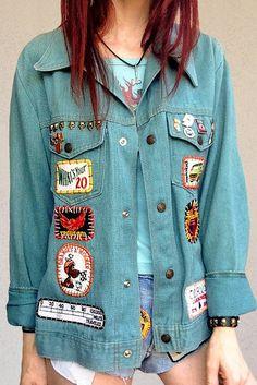 '7 Skulls' Softest Union Made Vintage Denim Jacket
