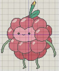 Buzy Bobbins: Wildberry princess - Adventure Time cross stitch design