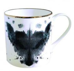 Fox ink blot mugs | 10 CANECAS/XÍCARAS/BULES | Pinterest
