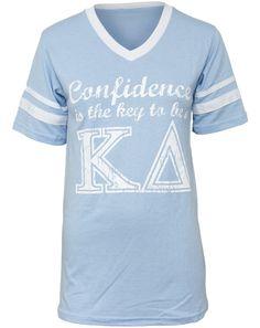 Kappa Delta Confidence Athletic V-Neck, LOVE!