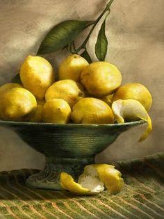 Lemon Painting, Food Painting, Limes, Lemon Head, Lemon Art, Apple Art, Lemon Drink, Woods Photography, Lemon Lime