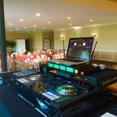 DJ Setup @ The Fairways of Halfmoon for the Hartnett wedding on July 4th, 2015.