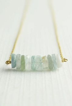 {seaglass necklace perfect for summer}