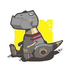 Baby Grimlock, this is the best Grimlock Transformers, Transformers Art, Transformer Tattoo, Robot Concept Art, Kawaii, T Rex, Spirit Animal, Comic Art, Nerdy