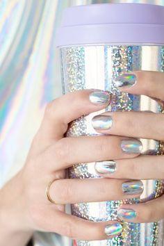 10 Holographic DIYs Fit For a Unicorn | Apartment Therapy