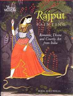 Rajput painting. Romantic, Divine and Courtly Art from India.