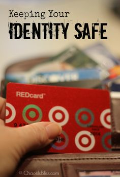 Tips on how to keep your identity safe.
