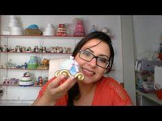 DIY- Aula Carruagem da Cinderela - Raquel Fontinele - Aula de Biscuit - YouTube
