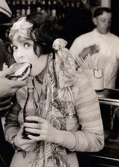 Clara Blow in Rough House Rosie, 1927.