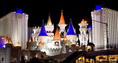 The Excalibur Hotel, Las Vegas Oh The Places You'll Go, Great Places, Places Ive Been, Excalibur Las Vegas, Las Vegas Hotels, Sin City, Nevada, Traveling By Yourself, Cruises