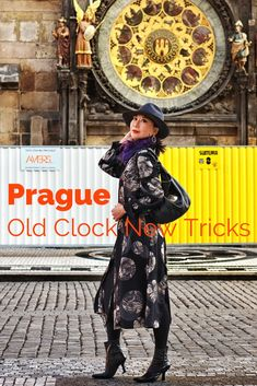 Click it to view 'Prague – Old Clock New Tricks' fashion story by White Caviar Life! Earrings With Price, Photoshoot Inspiration, Style Inspiration, Leather Jacket Dress, Backpacking South America, Old Clocks, Pencil Skirt Black, Blouse And Skirt, Unique Fashion