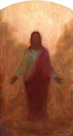 Resurrected Christ, Oil on Panel 2011, J. Kirk Richards