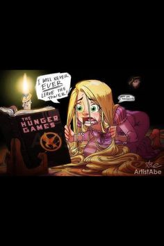 Raiponce -md Blague de princesse Princess joke