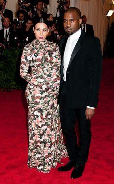 Kim Kardashian and Kanye West