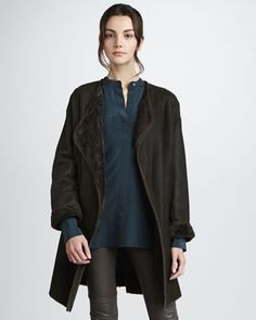 Cardigan Coat  by Vince at Neiman Marcus.