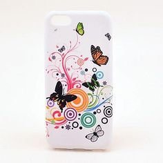 Butterfly og blomstermønster TPU Soft Veske til iPhone – NOK kr. Butterfly Pattern, Butterfly Flowers, Flower Patterns, Butterflies, Iphone 5c Cases, Iphone 4s, Iphone Case Covers, Coque Ipod, Cheap Iphones