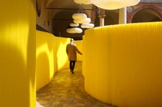 molo presenting at Tom Dixon's MOST during Milan Design Week (Salone…
