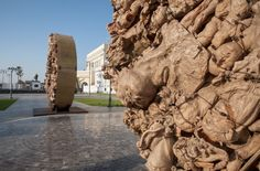Recorrido La Gran Plaza Malecón y la Plaza de la República | Noviembre 2014 - Enero 2015 | Puerto de Veracruz, Veracruz, México.  #JavierMarínescultor