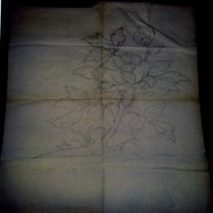 Bruce Porter, pencil on tracing paper, cartoon for stained glass window