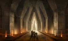 Deep Roads Gate - Pictures & Characters Art - Dragon Age II