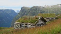 Cabin Porn™          – Stone huts in Geiranger, Norway.   Contributed by...
