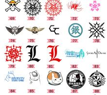 HOT NEW 2015 Japanese anime peripheral Anime tattoo paste Beyond the traditional tattoo stickers(China (Mainland))