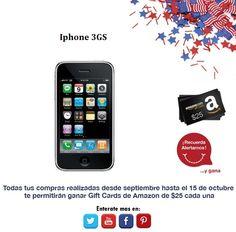 ¿El sistema IOS es lo tuyo? Iphone 3GS.  http://amzn.com/B004ZLV50E