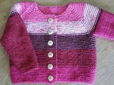 Utroligt nem og hurtig lille trøje til de mindste. Alle kan strikke den – godt begynderprojekt. Her i akryl/uld. Ren uld ville være fint, og den kan også strikkes i bomuld. Læs mere ...