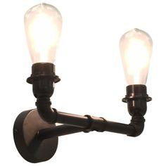 Design Steampunk, Design Moderne, Led, Light Bulb, Sconces, Wall Lights, Lighting, Decoration, Metal