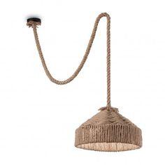 Natural Hemp Rope Pendant with Shade Drum Pendant, Lantern Pendant, Lights Over Island, Thing 1, Hanging Pendants, Roman Blinds, Hanging Lights, Montage, Hemp