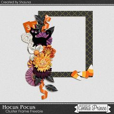Connie Prince designs | Halloween is just around the corner and Shauna has made a spooktacular treat for your freebie today using Hocus Pocus!