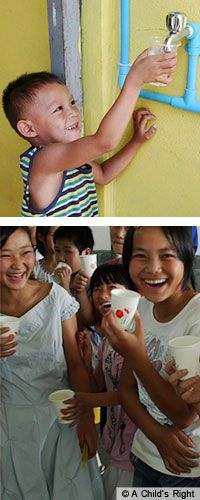 EVERY child deserves clean drinking water. Only 35 dollars can provide it!