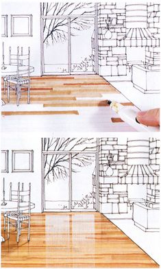 Marker rendering interior design best pen for architects drawing Rendering Interior, Interior Design Renderings, Drawing Interior, Interior Sketch, Interior Architecture, Classical Architecture, Landscape Architecture, Landscape Sketch, Color Interior