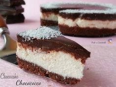 CHEESECAKE CHOCOCOCCO - Ricetta senza cottura