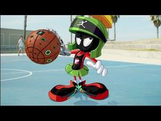 Blake Griffin Takes on Marvin the Martian in Out-of-This-World Dunk Contest | Bleacher Report