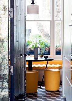 Une salle à manger à l'esprit rétro