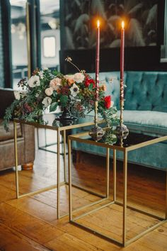 Vintage and gold: http://www.stylemepretty.com/new-york-weddings/new-york-city/brooklyn/2015/06/05/glamorous-1970s-nyc-wedding-inspiration/ | Photography: Harwell Photography - http://harwellphotography.com/