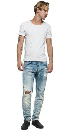 Rbj.901 tapered fit jeans