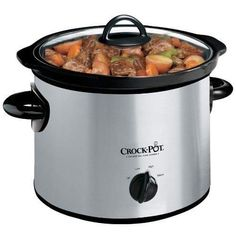 This Crock-Pot 3-Quart Slow Cooker provides the flexibility to prepare a meal early and have it slow-cook all day so that it's ready for you to eat when you get home. Crock-pot's make it easy to prepare nutritious, home-cooked meals. Slow cooking is a healthy, cost-efficient, and convenient way to cook.