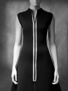 Fashion's Equivalent of the Blank Canvas >> Little Black Dress exhibition art SCADMOA