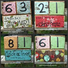count down blocks tutorial with downloadable pdf