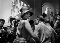 Sophia LOREN - 12th Cannes film festival. (1959)  Photo: Ara Güler