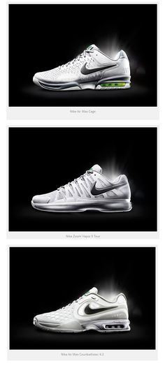 Nike Tennis Wimbledon 2013 Footwear Collection