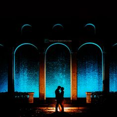 WaterWall - Our WaterWall is a romantic space that can be used for ceremony or reception. It provides a perfect backdrop for any elegant event!